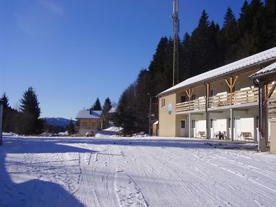 Photo for Studio 2 to 4 people at the foot of the ski slopes of Haut-Jura, very quiet hamlet