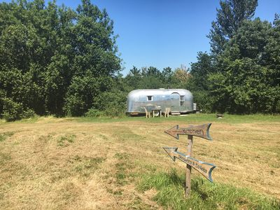 Photo for 1960's Bullet Airstream recently renovated for luxury getaway