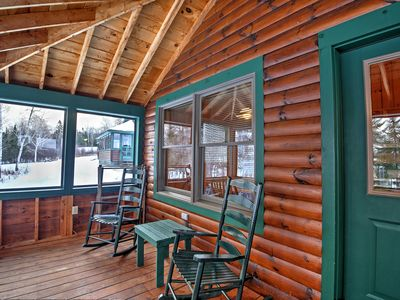 Photo for Quintessential 2BR Rangeley Lakefront Cabin