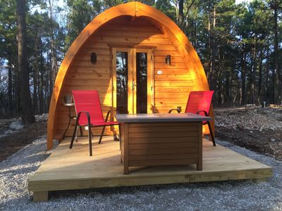 "Photo for Iris Hill Glamping - "" Ginny "" pod  4th night FREE"