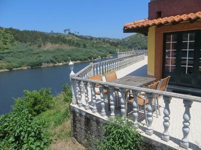 Photo for Holiday home Alecrim on the water in the protected Mondego Valley