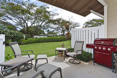 The Lanai and Backyard