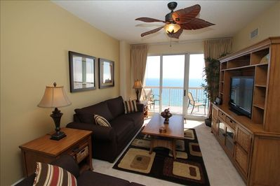 Living Room with Gulf View
