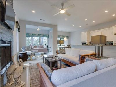 Photo for 3023 Ocean Winds -2 BR Seabrook Villa w/ Golf Course Views. Handicap Accessible and Elevator Access.