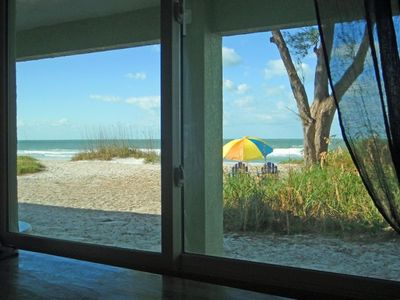 Photo for Directly on the Beach! Beautiful Ground Floor Condo