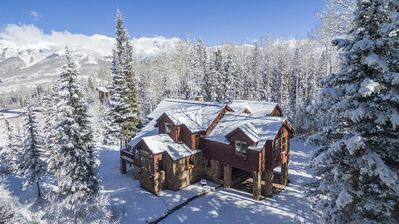 Photo for Spectacular 8-bedroom ski-in & ski-out luxury slope-side home
