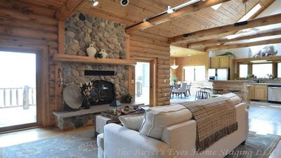 Photo for Magnificent Country Lodge, Secluded w/All Amenities - Elkhart Lake Area
