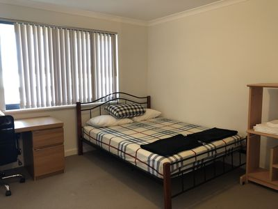 Photo for Large room for 2 in Bentley Apartment close to airport and CBD