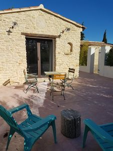 Photo for Gite at the foot of the Lubéron completely renovated and air-conditioned for 2 to 4 people
