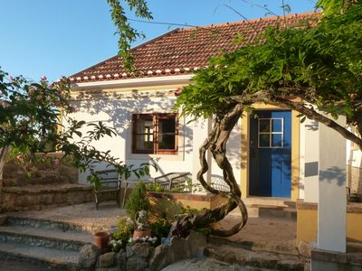 Our pretty cottage with sunny terrace