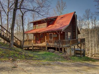 Photo for Secluded and Creek Frontage!