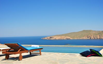 Photo for Great Location. Villa Kay Mykonos, a 6-bedroom 4 Bathrooms Villa at the Golden Sands of Agios Sostis Beach Up to 14 Guests