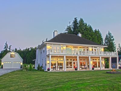 Photo for Premier Estate, 5+ Acre, Puget Sound Gem, w/150' Private , No Bank, Waterfront