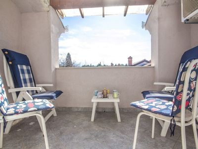 Photo for Apartment in the center of Zambratija with Air conditioning, Terrace, Balcony (576344)