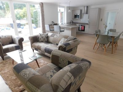 MonkeyPuzzle Lodge Open Plan Living Area