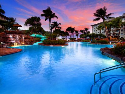 Photo for Maui's most spectacular oceanfront vistas. Located on Kā'anapali's North Beach