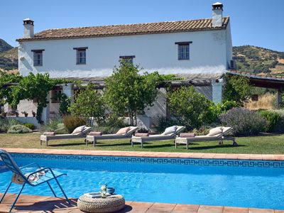 Photo for 20% off Sept 28 - Oct 11 & 15 - 20 Oct LUXURY VILLA PRIVATE POOL VIEWS RONDA 5Km