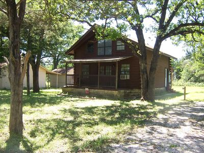 Photo for Two Story Log Cabin Located Approx 20 Miles From Austin & 15 Miles From Cota.