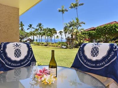 Photo for PK J107-Enjoy Sunsets and Sunrises in Kaanapali with Ocean and Garden Views