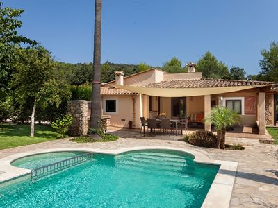 Photo for Catalunya Casas: Gorgeous Villa Llenya for 4 guests, only a 15-min walk to the town of Pollensa!