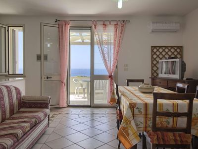Photo for Brigante  apartment in Marina San Gregorio with air conditioning, private parking & balcony.