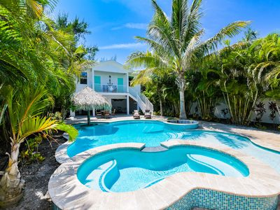 Photo for Blue Bay - Stunning views of the water, 8 bedroom luxury home with pool and spa!