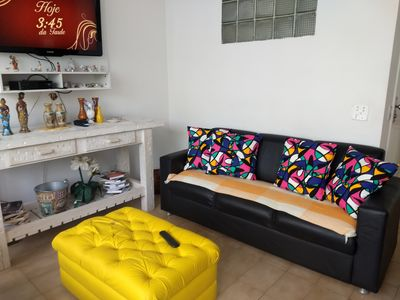 Photo for COMFORTABLE APARTMENT TO THE RIO DE JANEIRO STREET, 10 MTS FROM THE BEACH