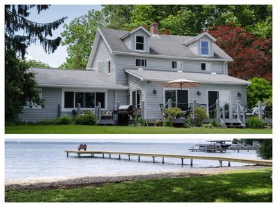 Photo for Best Value on Seneca Lake! New Remodel! RARE Level Lakefront on the Wine Trail!