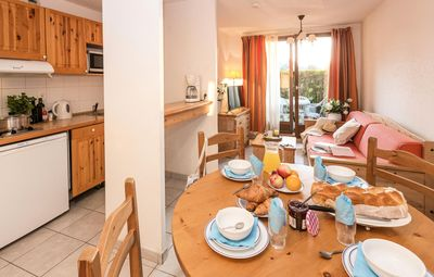 Photo for Residence Odalys Les Chalets d'Evian - 2 Rooms 4/5 People Lake Side