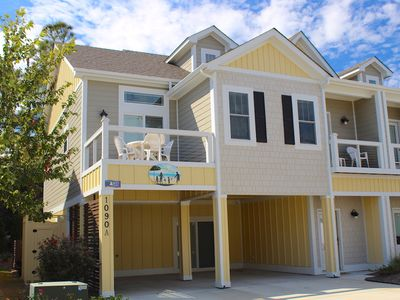 Photo for Family Tides at Beacon Villas 4 Bedroom Townhome, Access to Corolla Light Resort Amenities