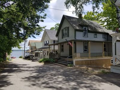 Photo for 1901 Home w/ Lake Winnipesaukee View, steps to Pier, Weirs Beach & Boardwalk!