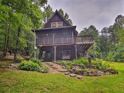 Photo for Hot Springs 'Paint Rock Cabin' Near Nat'l Forests!