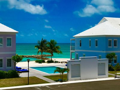 A '30 steps to the beach' luxury villa on Nassau