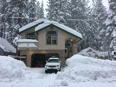 Photo for Beautifully furnished 4bedroom 3bath Tahoe Gathering Cabin