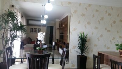 Photo for Wonderful furnished apartment in Campinas, fully furnished and decorated