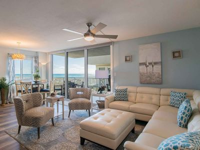 Photo for Newly Remodeled Beachfront Condo with Updates Throughout!
