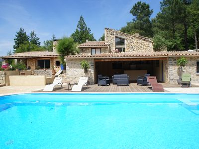 Photo for cottage of charm with swimming pool in a Mas Provençal 4 *