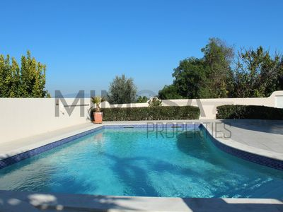 Photo for private villa with pool and views of the countryside, 5 minutes from the beach and golf