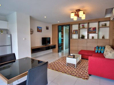 Photo for Superb apartment with direct pool access