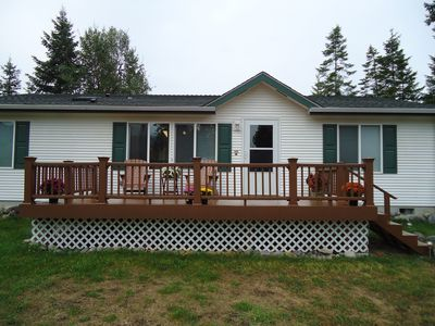 Comfortable home with all amenities. Large deck for relaxing.