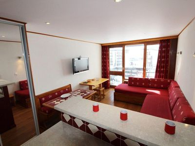 Photo for 10m from resort center, 2nd floor, balcony, tv, 27m², Tignes