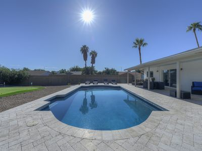 Photo for We Pay Pool Heat!  Walk to Restaurants!  Resort Style Pool/patio and GOLF!