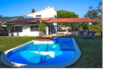 Photo for Exquisite villa for 9 in Cabrera de Mar, only 2km to the beach and 15km to Barcelon