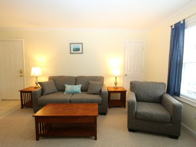 Photo for Condo just Steps from the Beach! Updated Condo with linens included!