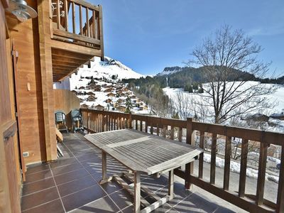 Photo for Chalet for 8 with 4 beds, 2 baths, chimney, wifi and all mod cons!