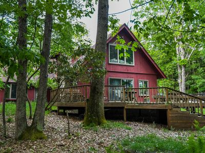 Photo for Crows Point Lodge: Amazing Lake Front in a Quiet Community