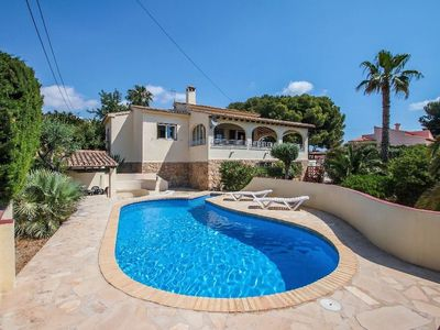 Photo for Bal-30E - traditionally furnished villa in Benissa
