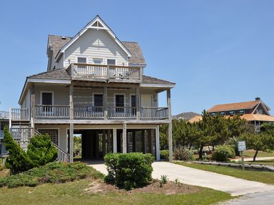 Photo for Just Breathe: Keyless entry, oceanside, community pool, one lot from the ocean.