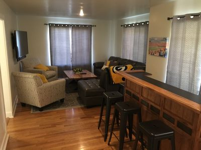 Photo for Cheer on the Packers ~ Walking Distance To Lambeau Field Stadium Area