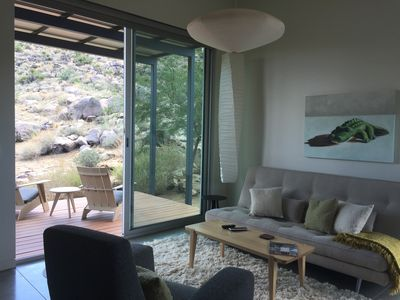 Photo for New. Architectual Guest House, Dramatic Desert Landscape, Close To Town & Park
